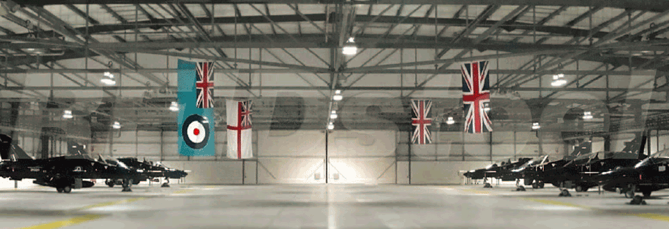 RAF Valley Hangar Internal