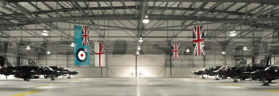 RAF Valley Hangar Internal