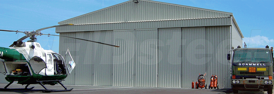 Reidsteel Surrey Air Ambulance Helicopter Hangar