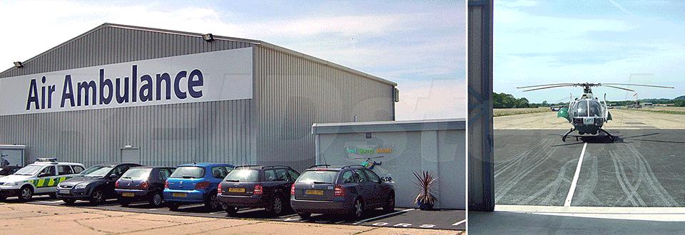 Reidsteel Surrey Air Ambulance Hangar