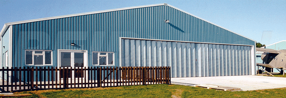 Flying Services Hangar External