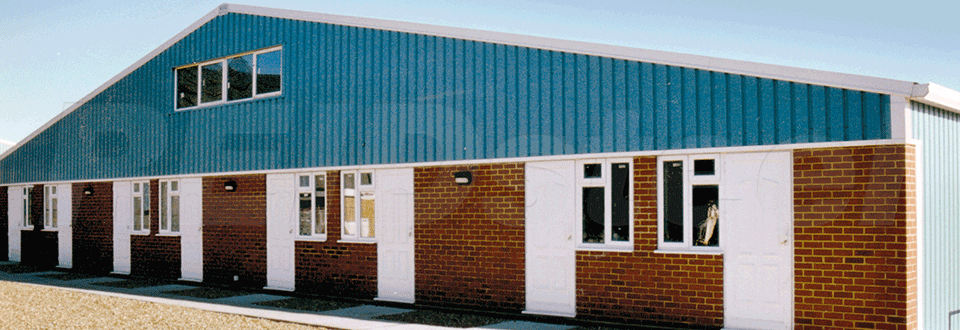 Flying Services Hangar Office External
