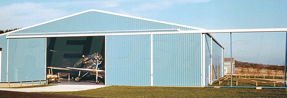 Island Aeroplanes Hangar External