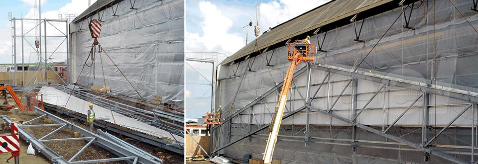 KLM Hangar Extension Construction