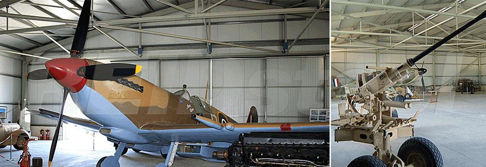 Malta Aircraft Museum Internal