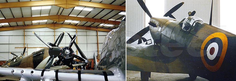 Biggin Hill Museum Hangar Planes