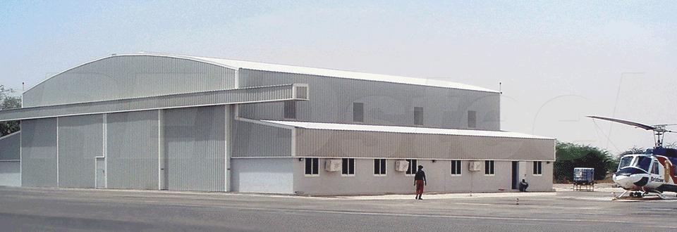 Nouakchott Helicopter Hangar