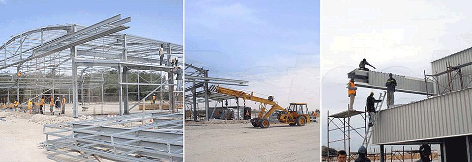 Nouakchott Helicopter Hangar Construction
