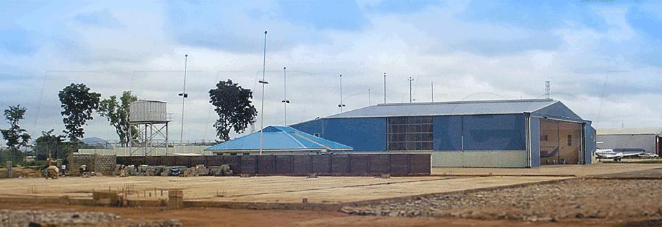 Police Hangar Nigeria External