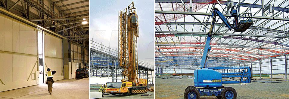 RAF Valley Airport Hangar Construction