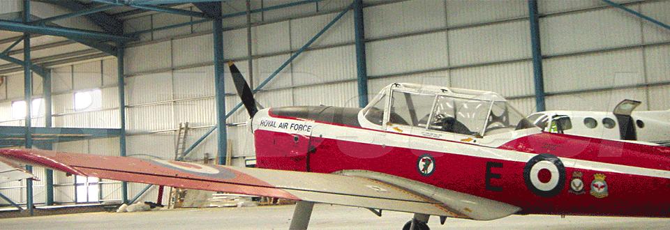 Silverstar Aviation Hangar Internal View