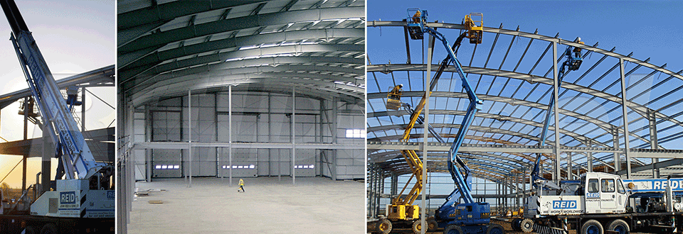 Summit Aviation Hangar Construction