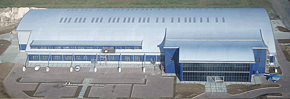 Summit Aviation Hangar Birdseye View