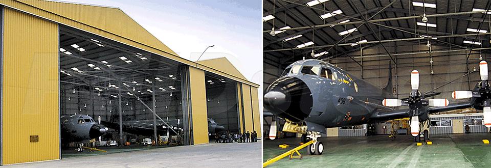 Chilean Navy Hangar