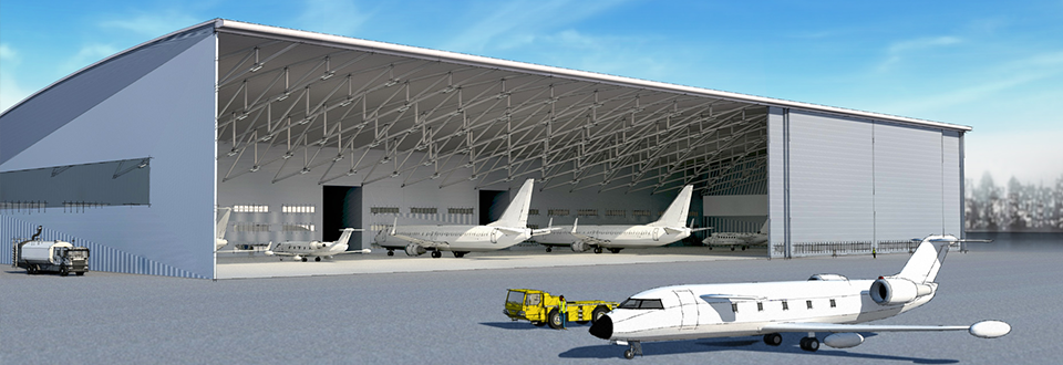 Clear Entry Hangar